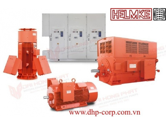 Động cơ điện trung thế Helmke loại DOR Series