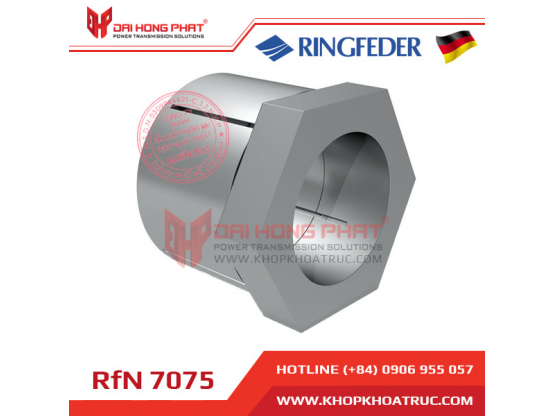 Khớp khóa trục Ringfeder RFN 7075 with central lock nut