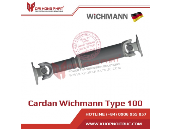Khớp Nối Trục Cardan Wichmann Type 100
