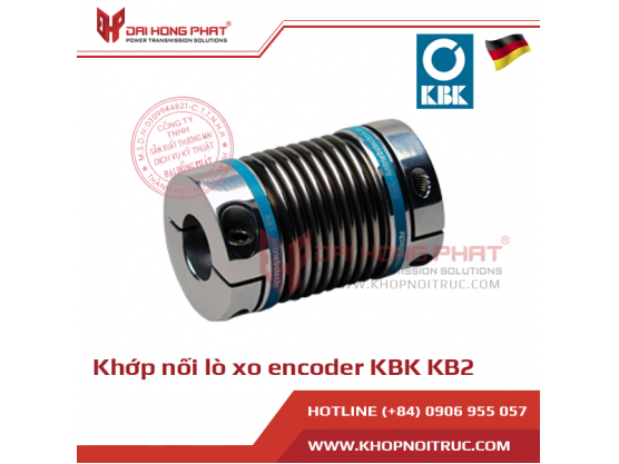 Khớp nối lò xo Encoder KBK KB2