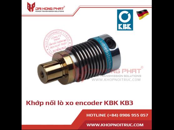 Khớp nối lò xo encoder KBK KB3