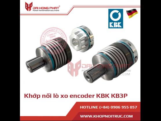 Khớp nối lò xo encoder KBK KB3P