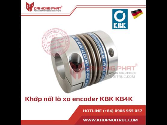 Khớp nối lò xo encoder KBK KB4K