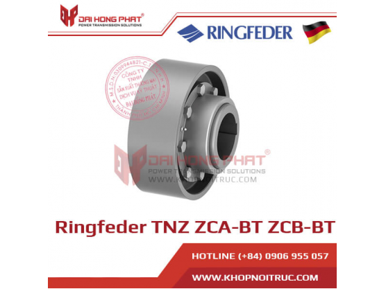 Khớp nối răng Ringfeder TNZ ZCA-BT / ZCB-BT