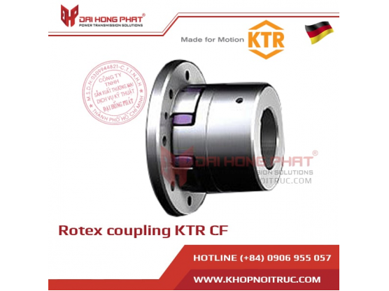 Khớp nối trục KTR Rotex CF