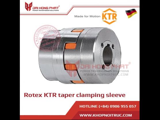 Khớp nối trục KTR Rotex có ống lót kẹp côn