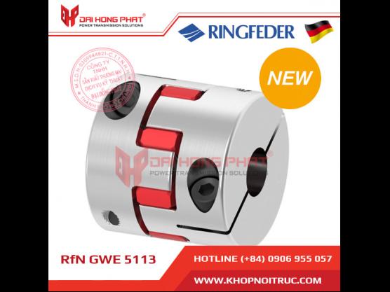 Khớp nối động cơ Servo Ringfeder GWE 5113