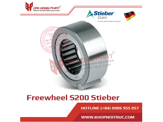 Bạc đạn một chiều Stieber S200