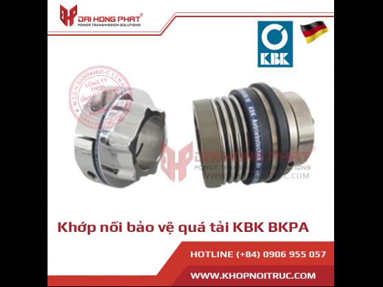 Khớp nối bảo vệ quá tải KBK BKPA