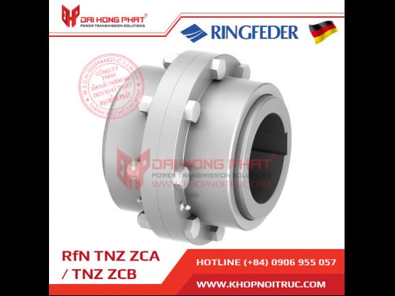 Khớp nối răng Ringfeder TNZ ZCA / ZCB
