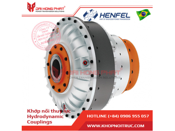 Khớp nối thủy lực Henfel HCP with Pulley