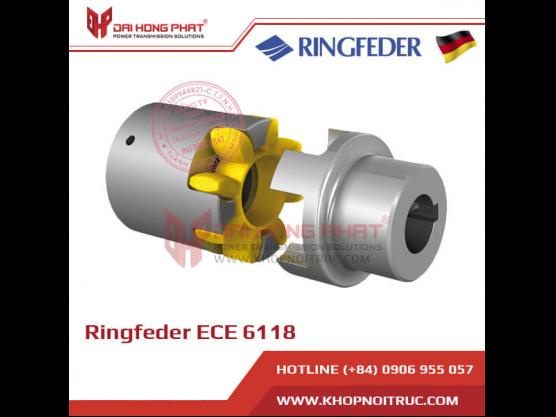 Khớp nối trục vỏ nhôm Ringfeder ECE 6118