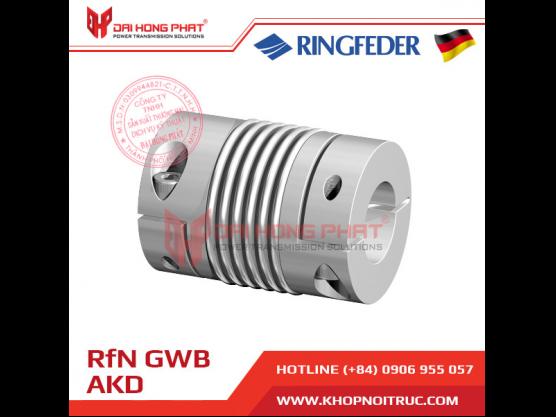 Khớp nối trục Ringfeder GWB AKD dùng cho encoder