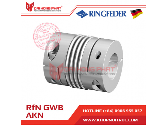 Khớp nối trục Ringfeder GWB AKN dùng cho encoder
