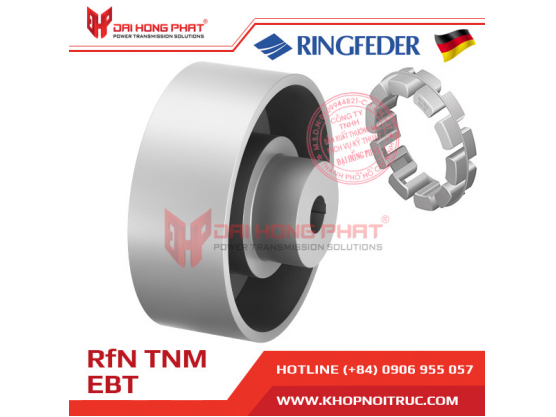 Khớp nối  trục Ringfeder TNM Nor Mex EBT (TNM EBT)