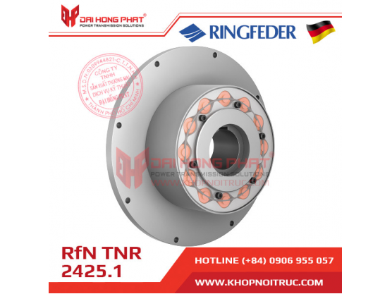 Khớp nối trục Ringfeder TNR 2425.1 - dễ dàng lắp đặt