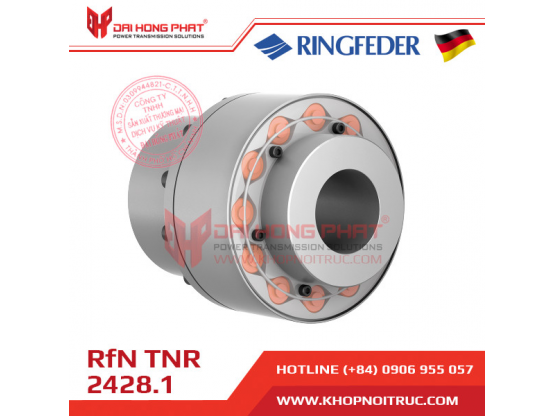 Khớp nối trục Ringfeder TNR 2428.1 - dễ dàng lắp đặt