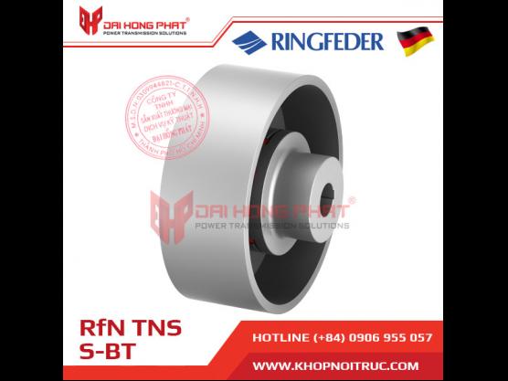 Khớp nối trục Ringfeder TNS S-BT kèm đĩa phanh, trống phanh