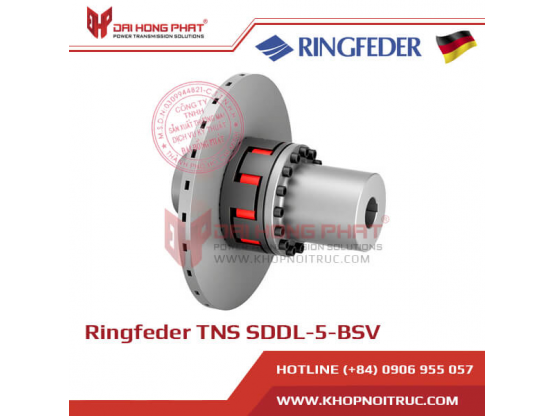 Khớp nối trục Ringfeder TNS SDDL-5-BSV